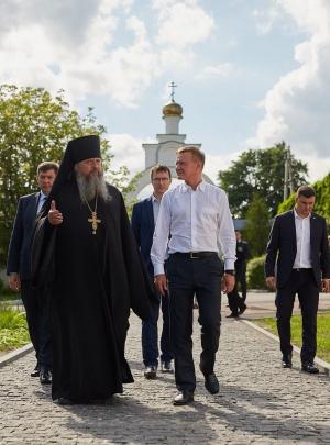 Роман Старовойт в Рыльском монастыре